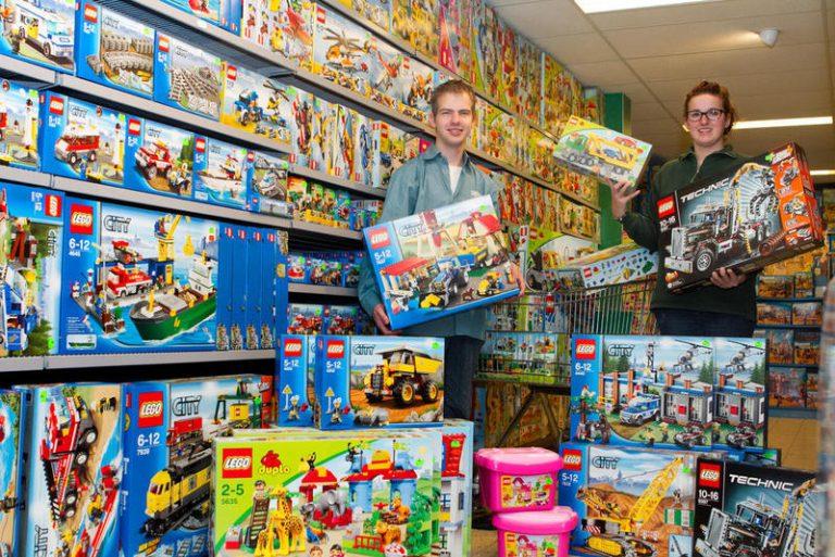 Lego-bouwmiddagen bij Coppens Warenhuis