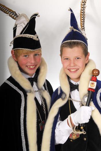 Nieuw jeugdprinsenpaar van de Piepers