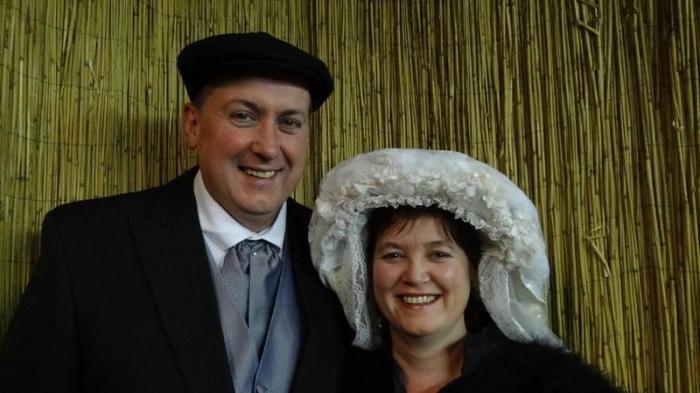 foto-boeren-bruidspaar-krant
