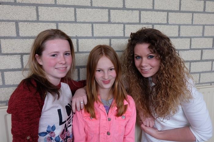 Ilona, Julianne en Pascal
