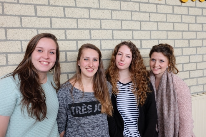 Renske, Liz, Suuz en Suzan