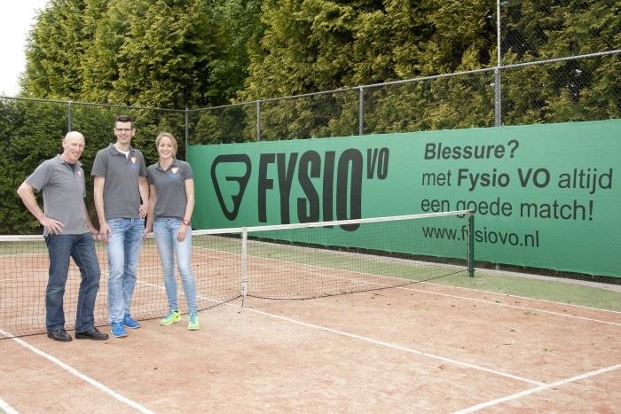 FysioVO baansponsor jeugdbaan