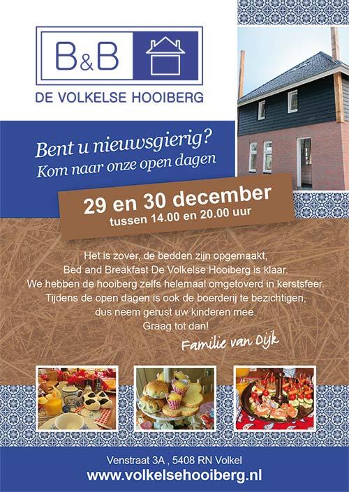 Nieuw in Volkel, Bed and Breakfast De Volkelse Hooiberg