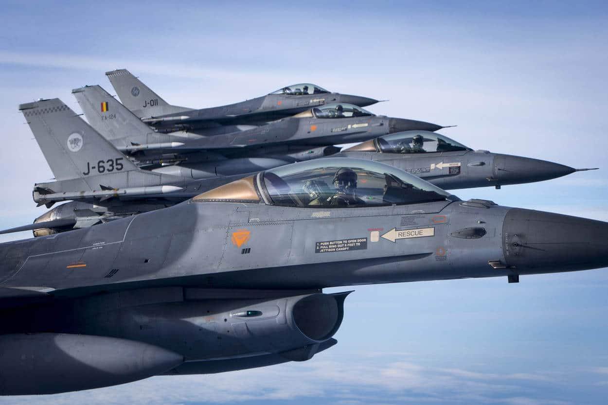 Volkel neemt bewaking luchtruim over na problemen met F-16's in België