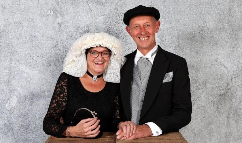 Jan en Maria van Sleeuwen nieuw Boerenbruidspaar van Volkel