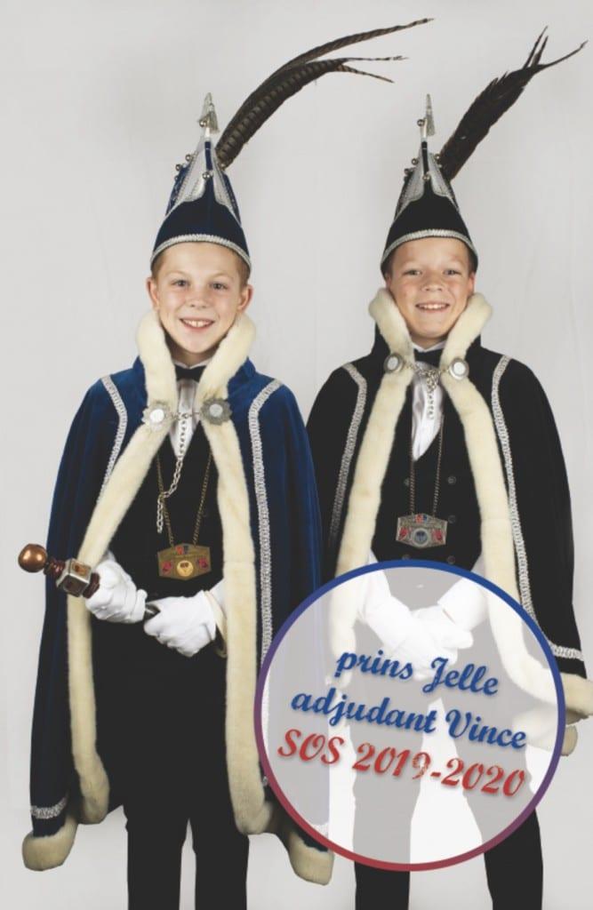 Nieuw jeugdprinsenpaar in Volkel