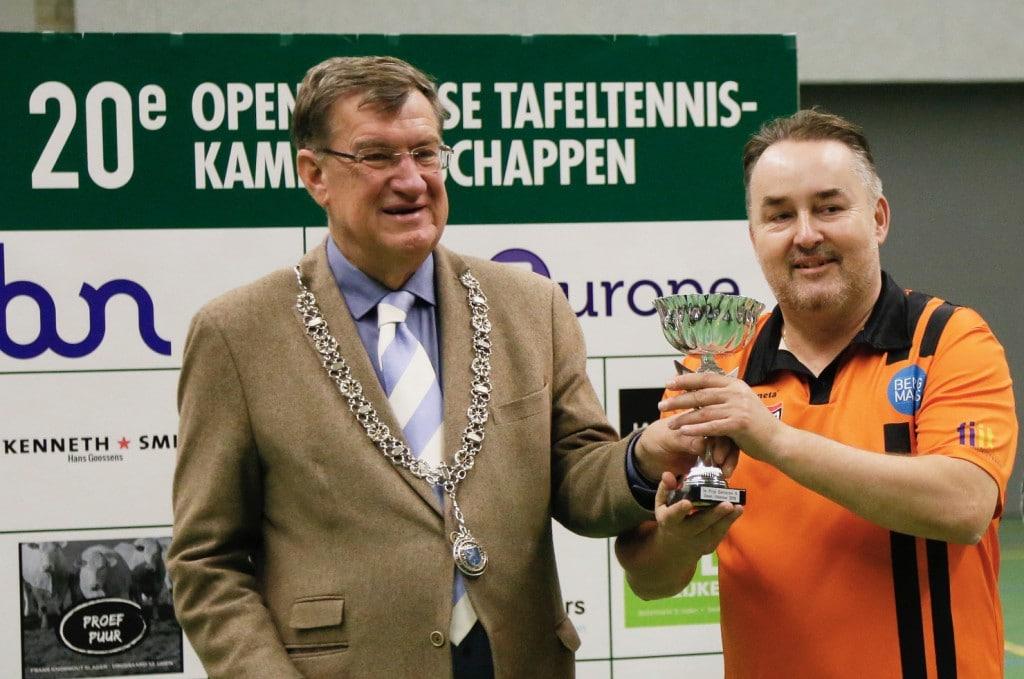 Geslaagde 20e editie Open Udense Tafeltennis Kampioenschappen