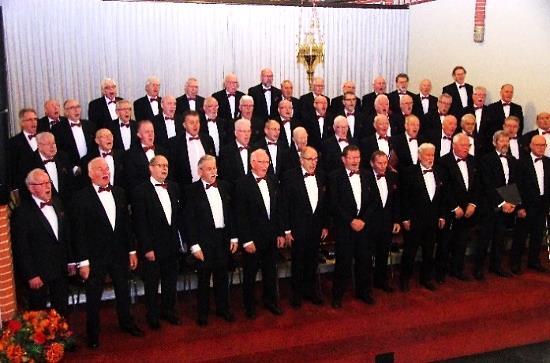 Zondag 12 januari nieuwjaarsconcert mannenkoor De Karawanken