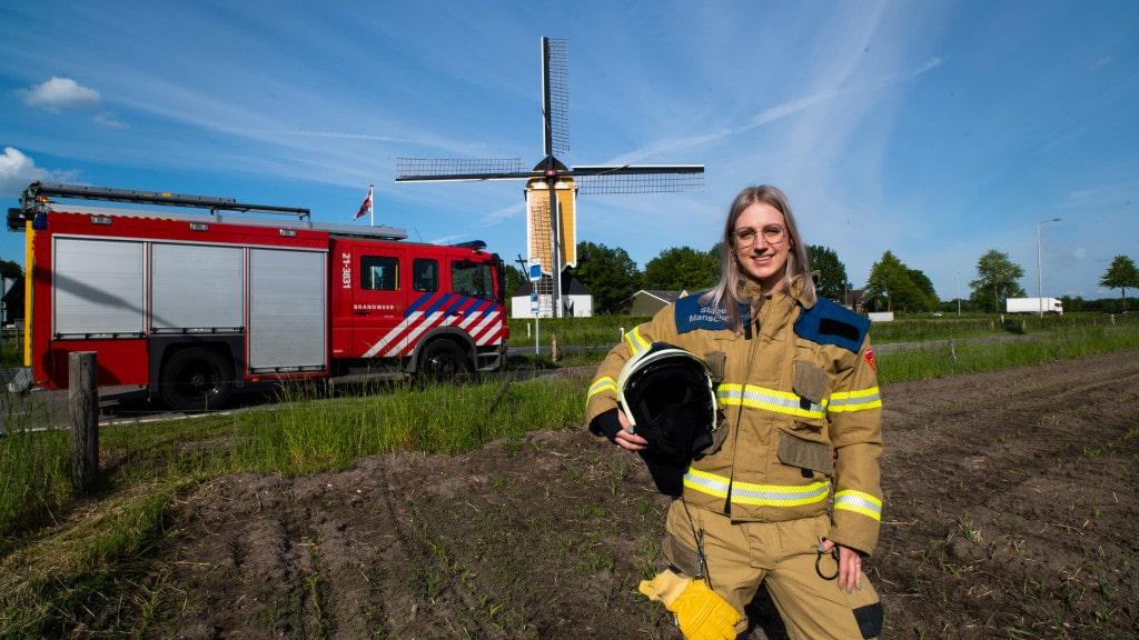 Eerste Volkelse brandweervrouw bij korps Uden